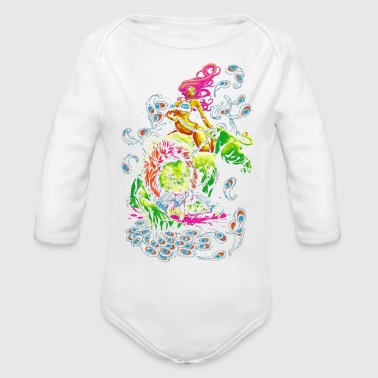 SOUR PUSS - Organic Long Sleeve Baby Bodysuit