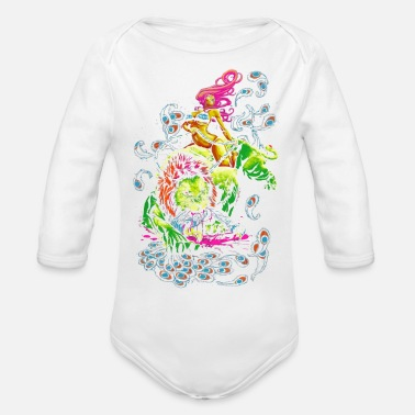 Sour SOUR PUSS - Organic Long-Sleeved Baby Bodysuit