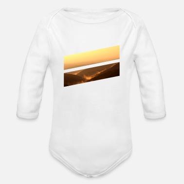 4ad5f7b7c67e4 Sunlight Forest morning sunlight - Organic Long-Sleeved Baby Bodysuit