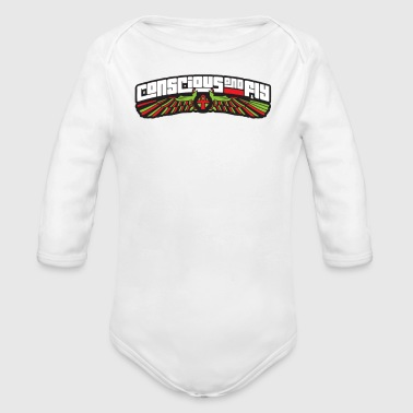 Conscious And Fly - Organic Long Sleeve Baby Bodysuit