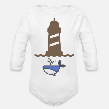 Pollution water pollution - Organic Long-Sleeved Baby Bodysuit
