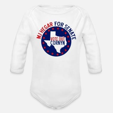 Mj Hegar MJ Hegar for Senate - Organic Long-Sleeved Baby Bodysuit