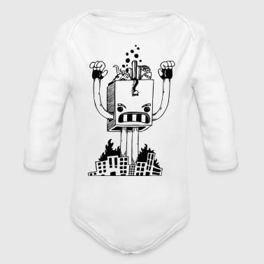 Archie Archie XI - Organic Long Sleeve Baby Bodysuit