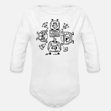 Affection Piggy Affection - Organic Long-Sleeved Baby Bodysuit
