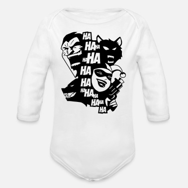 Funny KILLER JOKE - Organic Long-Sleeved Baby Bodysuit