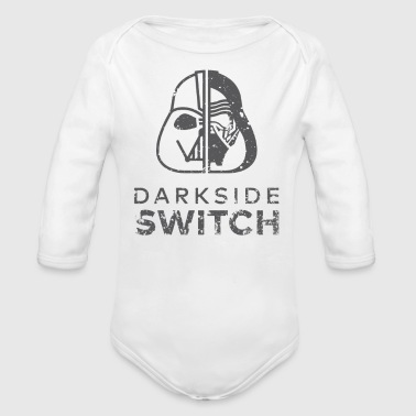 Darkside Switch - Organic Long Sleeve Baby Bodysuit