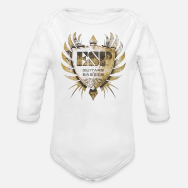 Esp Guitars ESP Guitar Craft Academy - Organic Long-Sleeved Baby Bodysuit