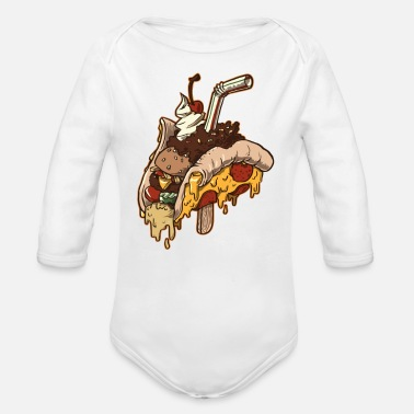 Cuisine JONQUE CUISIN - Organic Long-Sleeved Baby Bodysuit
