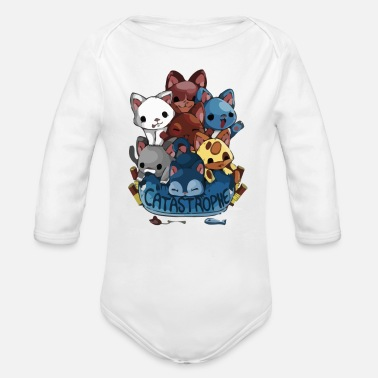 Catastrophe CATASTROPHE - Organic Long-Sleeved Baby Bodysuit