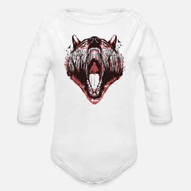 Little Red Riding Hood LITTLE RED RIDING HOOD - Organic Long Sleeve Baby Bodysuit