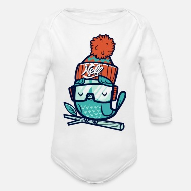 Net Net - Organic Long Sleeve Baby Bodysuit