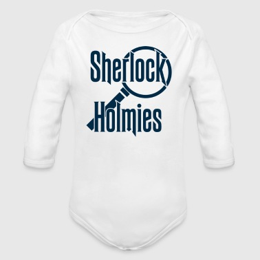 Sherlock Holmies - Organic Long Sleeve Baby Bodysuit