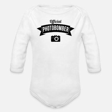 Official Person Official Photobomber - Organic Long Sleeve Baby Bodysuit