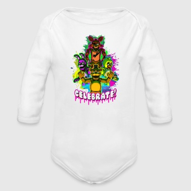 Celebrate - Organic Long Sleeve Baby Bodysuit