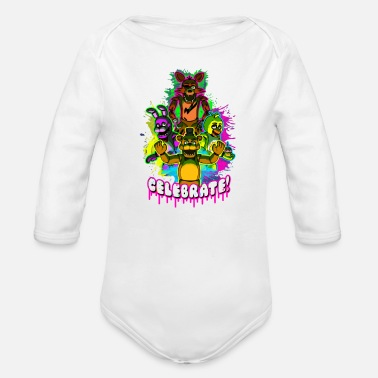 Celebrate Celebrate - Organic Long-Sleeved Baby Bodysuit