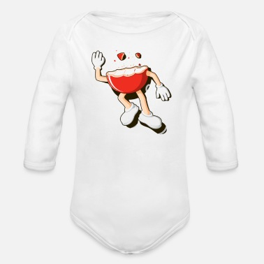 Death by Chocolate - Organic Long-Sleeved Baby Bodysuit
