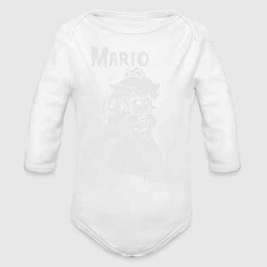 Die Die My Princess - Organic Long Sleeve Baby Bodysuit