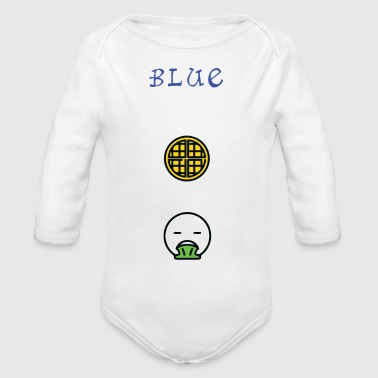 Infected Waffle - Organic Long Sleeve Baby Bodysuit