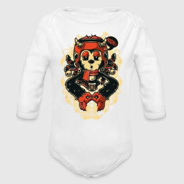 HIGH - Organic Long Sleeve Baby Bodysuit