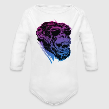 Shaded Ape - Organic Long Sleeve Baby Bodysuit