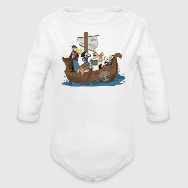 Southern California The Southern Sassenachs - Organic Long Sleeve Baby Bodysuit