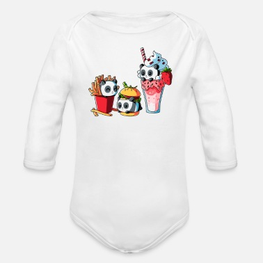 Meal COMBO MEAL - Organic Long-Sleeved Baby Bodysuit