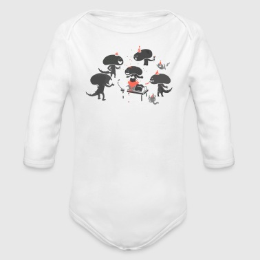 Surprise - Organic Long Sleeve Baby Bodysuit