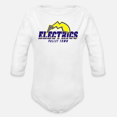 Electricity Electrics - Organic Long Sleeve Baby Bodysuit