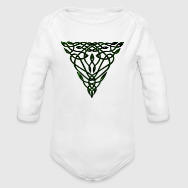 Celtic  III - Organic Long Sleeve Baby Bodysuit