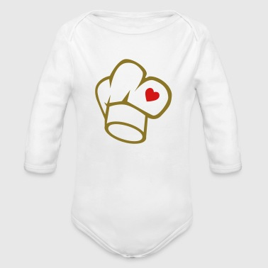 cook - Organic Long Sleeve Baby Bodysuit