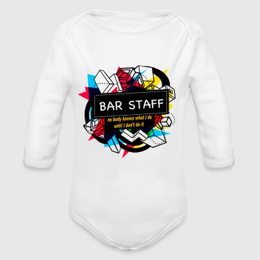 BAR STAFF - Long Sleeve Baby Bodysuit