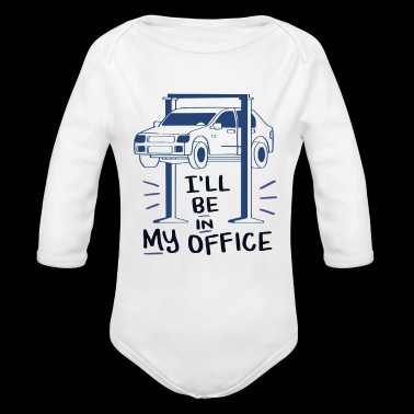 Car Mechanic, Car lover enthusiast Gift - Long Sleeve Baby Bodysuit