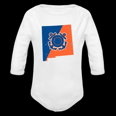 New Mexico Coast Guard Wife Coast Guard Merchandise - Long Sleeve Baby Bodysuit