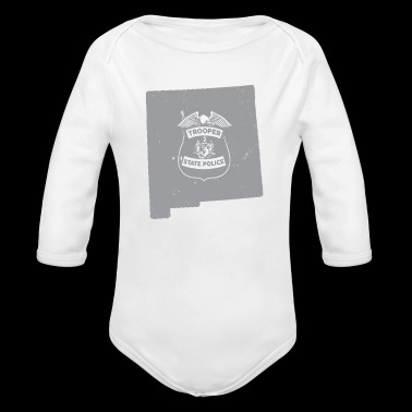 New Mexico State Trooper Shirt New Mexico Highway Patrol - Long Sleeve Baby Bodysuit
