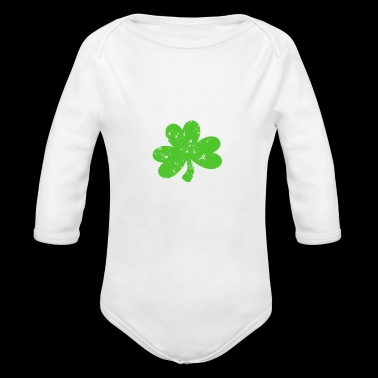 St Paddys Kentucky Shirt Raised By Leprechauns Gift - Organic Long Sleeve Baby Bodysuit