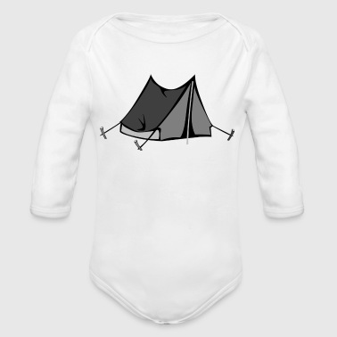 Tent - Organic Long Sleeve Baby Bodysuit