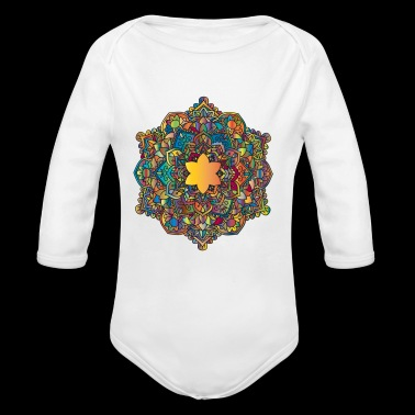 MANDALA KARMANDALA - Long Sleeve Baby Bodysuit