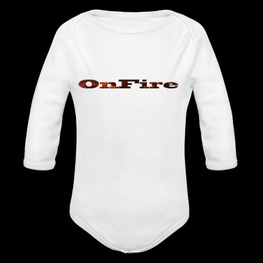 OnFire - Long Sleeve Baby Bodysuit