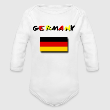 Germany - Long Sleeve Baby Bodysuit