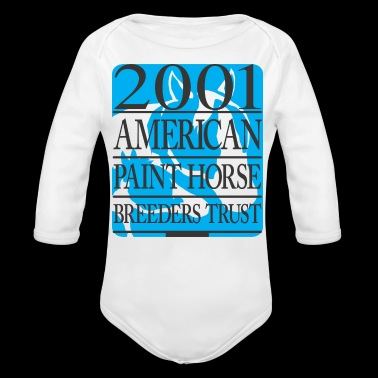 Paint Horse - Long Sleeve Baby Bodysuit