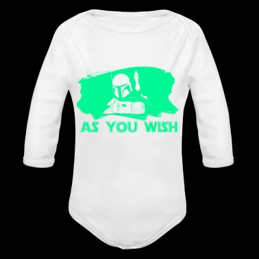 As You Wish - Organic Long Sleeve Baby Bodysuit