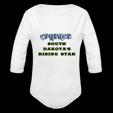 Watertown South Dakota's Rising Star Coffee mugs - Long Sleeve Baby Bodysuit