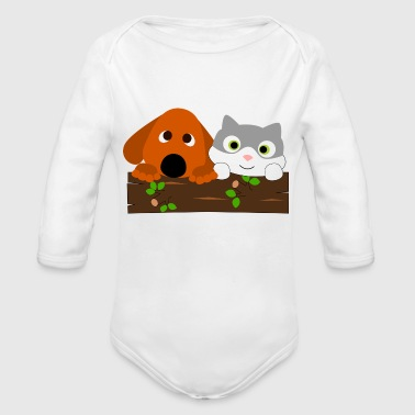 baby decoration - Organic Long Sleeve Baby Bodysuit