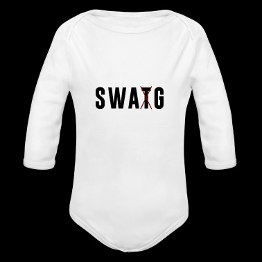 SWAT / SWAG - Long Sleeve Baby Bodysuit