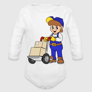 Delivery Service - Organic Long Sleeve Baby Bodysuit