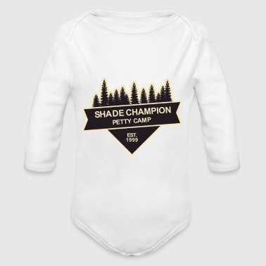 Shade Champion - Organic Long Sleeve Baby Bodysuit