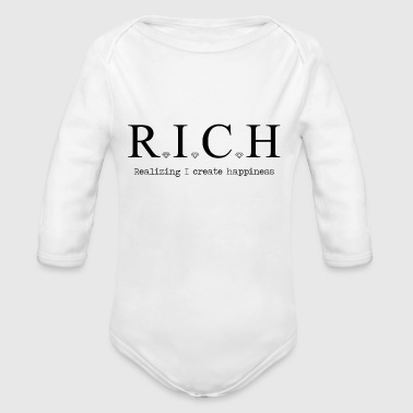 Rich - Organic Long Sleeve Baby Bodysuit