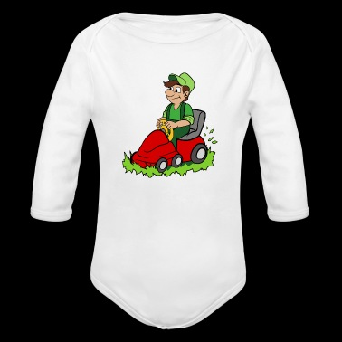 Gardener - Long Sleeve Baby Bodysuit