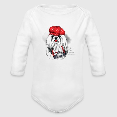 DOG SPECIAL MOMENT - Organic Long Sleeve Baby Bodysuit