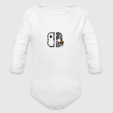 Switch Nation | Zebra Nation - Long Sleeve Baby Bodysuit
